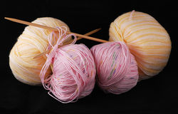 Ready to knit Stock Images