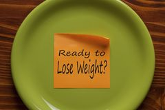Ready to Lose Weight concept stock photos