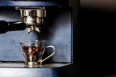 Ready to make the best espresso Royalty Free Stock Images