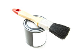 Ready to paint Stock Image