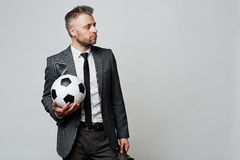Ready to play business Stock Images