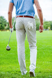 Ready to play golf. Royalty Free Stock Image