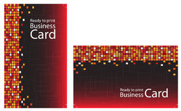 Ready to print Business Card Royalty Free Stock Images