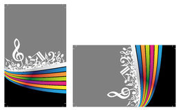 Ready to print Business Cards royalty free illustration