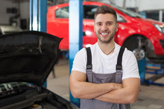 Ready to Repair Your Car Royalty Free Stock Photography