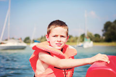 Ready to sailing Stock Images