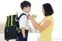 Ready to school royalty free stock images