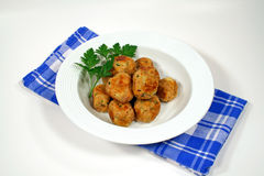Ready To Serve Chicken Meat Balls Stock Photos