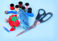 Ready to Sew Royalty Free Stock Images