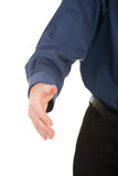 Ready to shake hands Stock Image