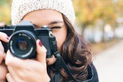 Ready to shoot camera Royalty Free Stock Photography