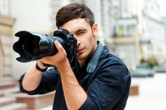 Ready to shoot. Stock Photography