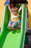 Ready to slide. Stock Photography