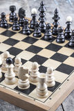 Ready to Start Chess Stock Images