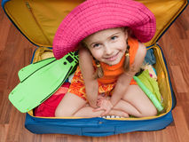 Ready for travel Stock Image