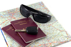 Ready for travel. Royalty Free Stock Photography