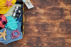 Ready for travel royalty free stock photography