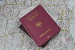Ready for travel Stock Photo