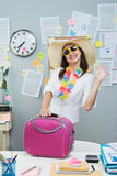 Ready for vacations Stock Images