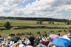 Ready for war at Gettysburg stock images