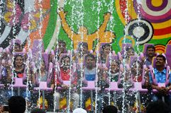 Ready for Water Spin Ride at Essel World Royalty Free Stock Photography