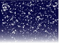 Ready for winter holidays snow background stock illustration