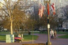 Reagan-Gorbachev Summit in Washington DC Stock Photography