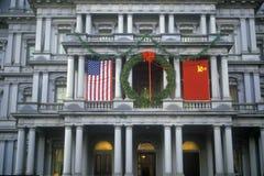 Reagan-Gorbachev Summit in Washington DC Royalty Free Stock Images