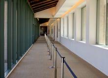 Reagan Library hallway Stock Image