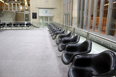 Reagan National Airport. Chairs at Reagan National Airport in Washington, DC Stock Image