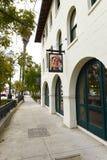 The Reagan Ranch Center in the heart of downtown Santa Barbara royalty free stock photos
