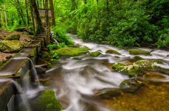 Reagans Mill, Roaring Fork, Great Smoky Mountains Royalty Free Stock Photos