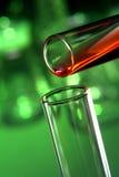 Reageerbuizen in het Laboratorium van de Wetenschap stock afbeeldingen