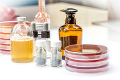 Reagent for biochem tests Royalty Free Stock Photos