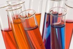 Reagenzglasnahaufnahme Stockbilder