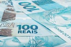 100 reais Стоковая Фотография