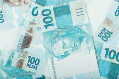 100 reais Стоковое Фото