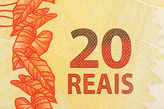 20 reais bill Royalty Free Stock Images