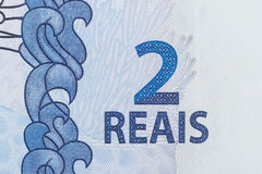2-Reais-Rechnung Lizenzfreie Stockfotografie
