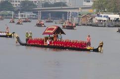 Reais tailandeses barge dentro Banguecoque Fotos de Stock Royalty Free