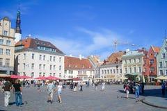 Reakoja Plats i Tallinn, Estland Arkivfoton