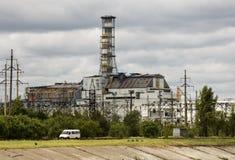 Reaktor nummer 4 Arkivfoto