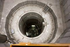 Reaktorowy ciśnieniowy naczynie elektrownia jądrowa obrazy royalty free