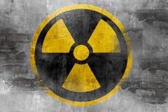 Reaktoru jądrowego symbol Zdjęcia Royalty Free