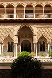 Real Alcazar de Sevilla. Patio de las Doncellas Royalty Free Stock Photography