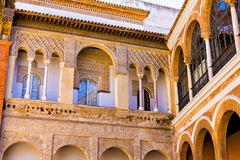 Real Alcazar details, Seville Royalty Free Stock Photo