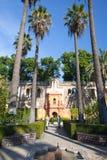 Real Alcazar Gardens in Seville. Royalty Free Stock Image