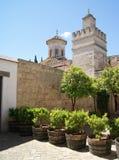Real Alcazar of Jerez de la Frontera Royalty Free Stock Photography