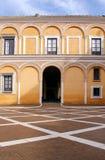 Real Alcazar Moorish Palace in Seville Stock Images