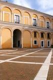 Real Alcazar Moorish Palace in Seville Royalty Free Stock Photo